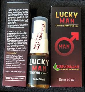 LUCKY MAN Spray Pria Perkasa | Obat Kuat Spray Herbal Alami