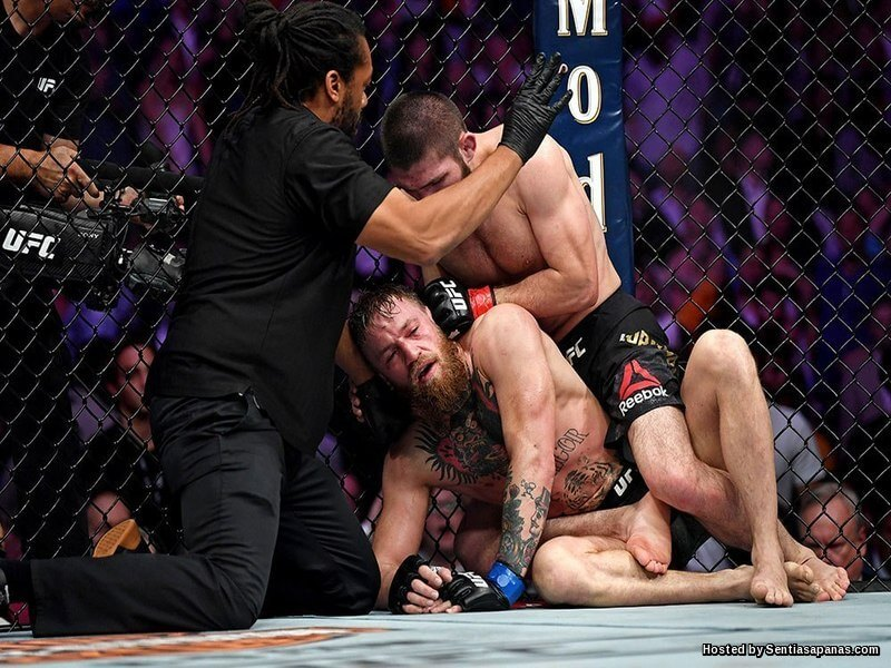 Khabib beat Conor McGregor UFC 229