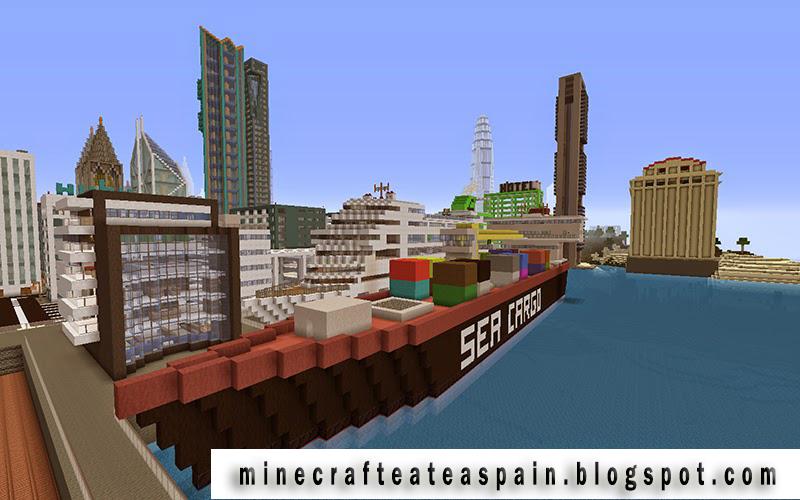 Ciudad minecraft - MC PS3 GTA V HG Download - Minecraft PS3/PS4