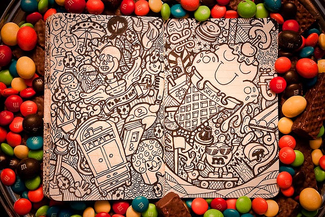 13-Maykel-Nunes-Graphic-Designer-Illustrator-Moleskiner-Sketchbook-Doodles-www-designstack-co