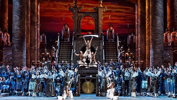 Turandot, teatro Regio, Torino, Italy