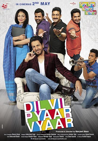 Dil Vil Pyaar Vyaar (2014) Full Movie Punjabi 720p HDRip Free Download