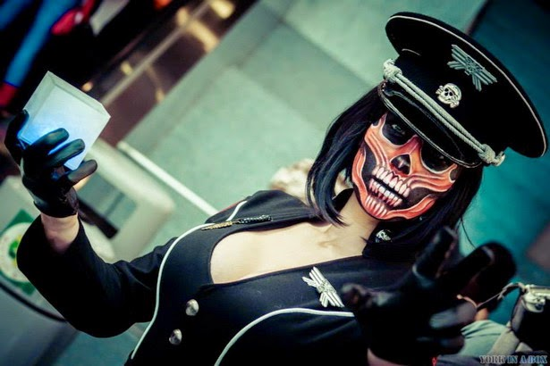 Red Skull Gender Bender Cosplay
