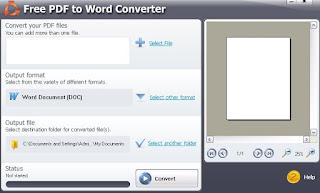 Programma Free PDF to Word Converter