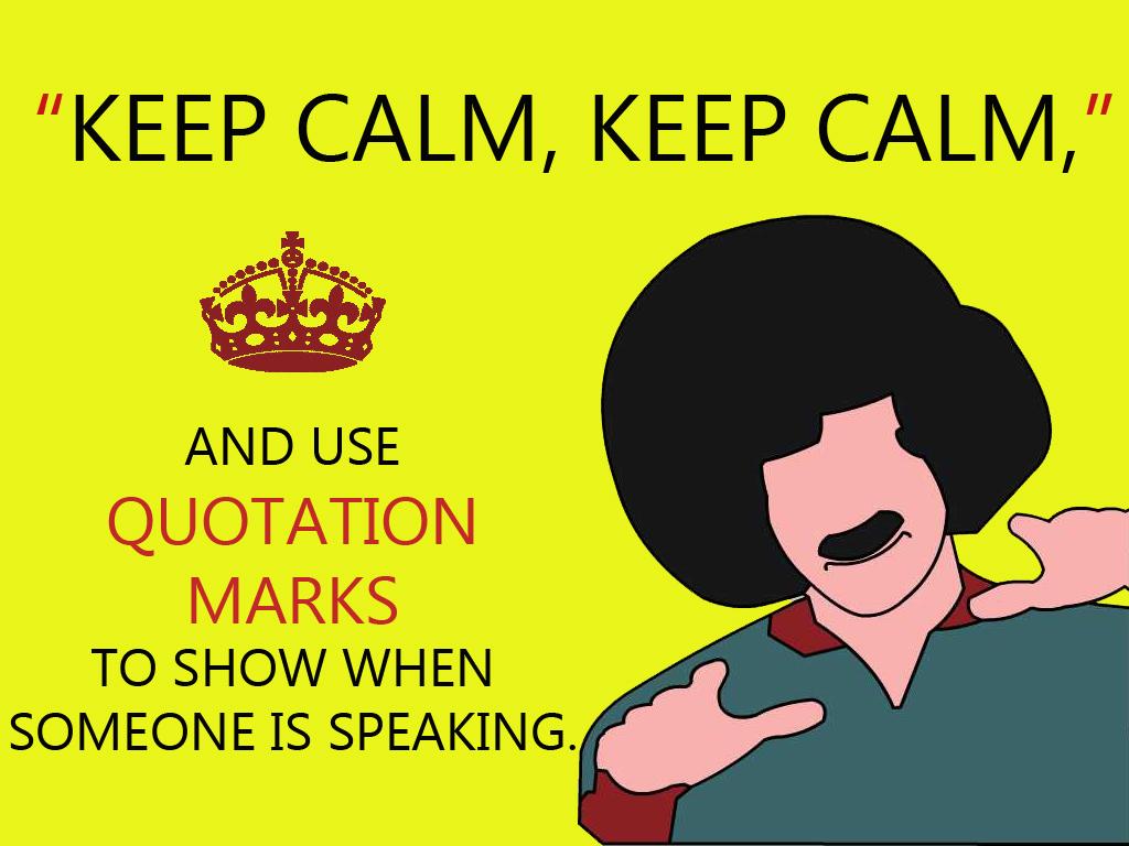 Direct Quotes Punctuation Quotesgram