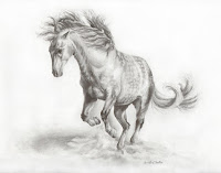 horse artworks, equine art