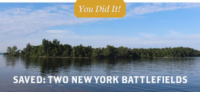 Preservation Victory at Two New York Battlefields, The Battle of Lundy's Lane, Revolutionary War Animated Map, and More!