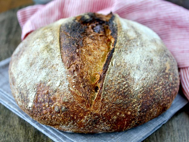 Fig and Fennel Sourdough Bread