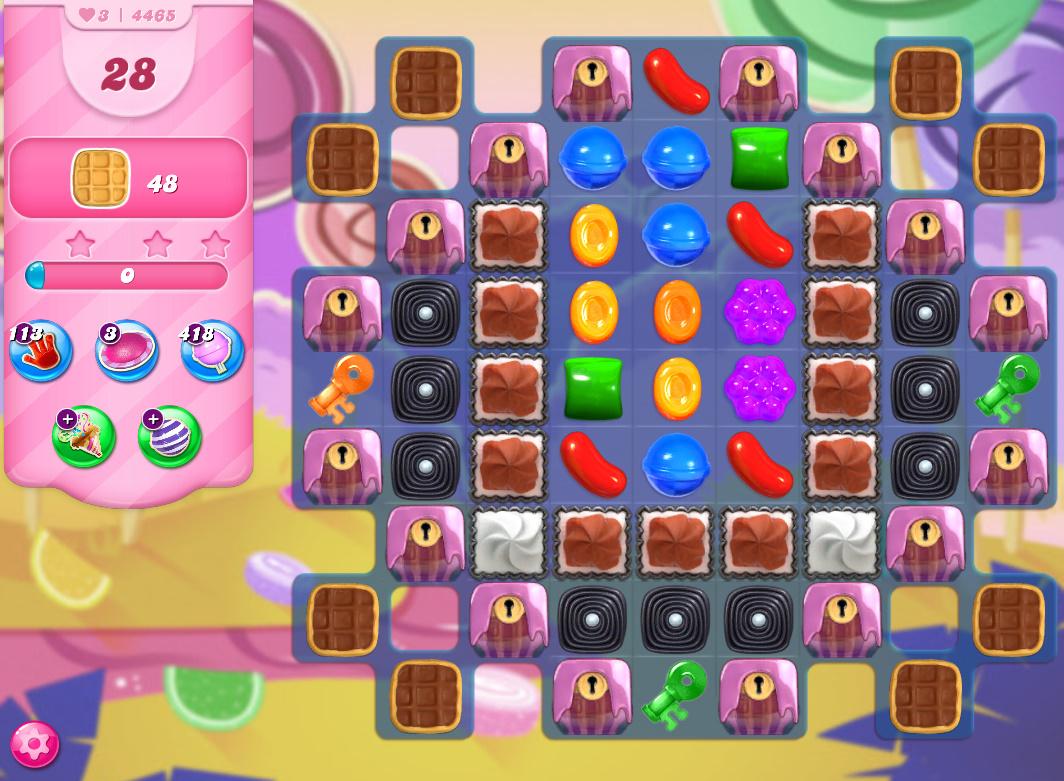 Candy Crush Saga level 4465
