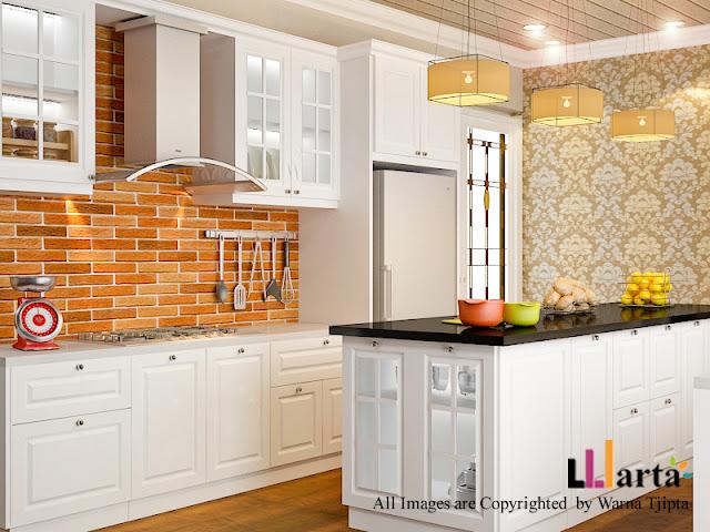 desain dapur american style