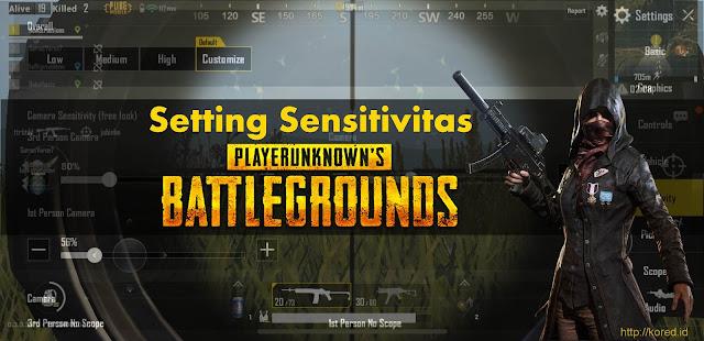 Setting Control Sensitivitas Pubg Mobile Terbaru