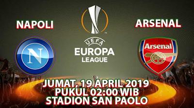 Prediksi Bola Napoli vs Arsenal 19 April 2019