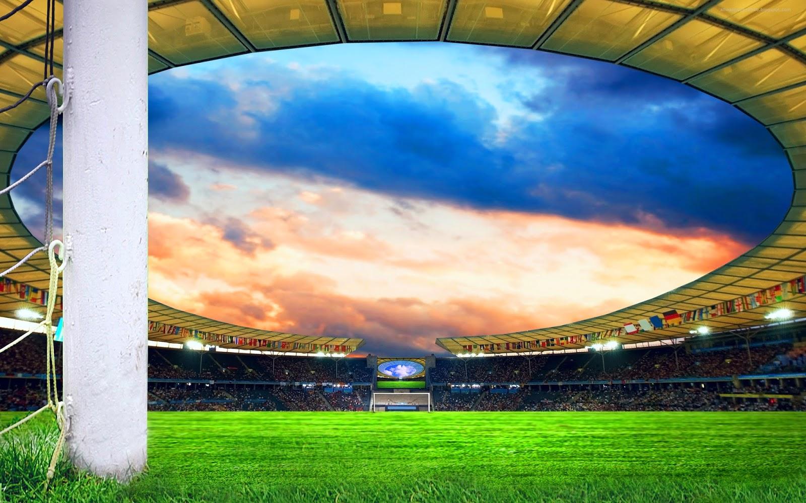 Football Stadium Backgrounds: Beautiful Desktop Wallpapers 2014