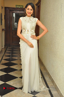 Actress Pragya Jaiswal Stills in Beautiful White Dress at turodu Audio Launch  0063.JPG