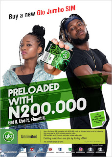 Glo Introduces A New SIM Preloaded With N200,000 Free Airtime