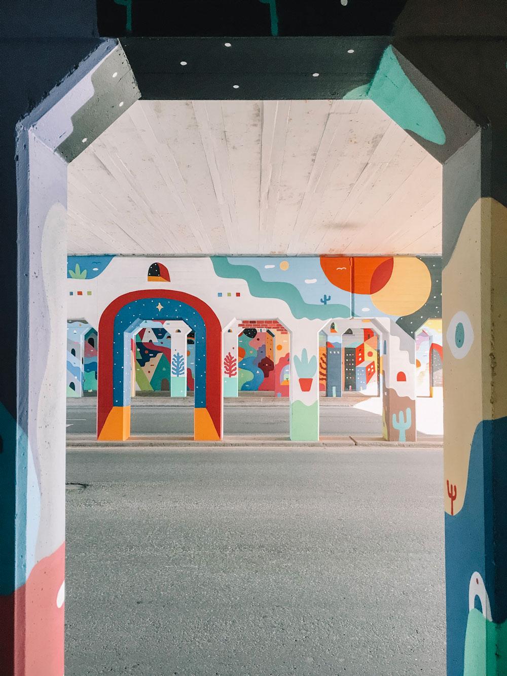 bricktown mural