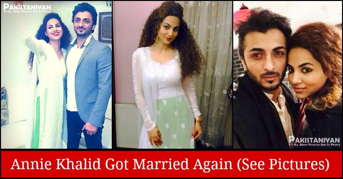 Annie Khalid Got Married To Saad Ahmed Khan - See Wedding