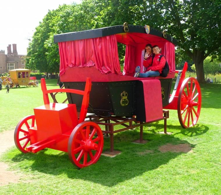 Ruby Tuesday: Hampton Court Palace