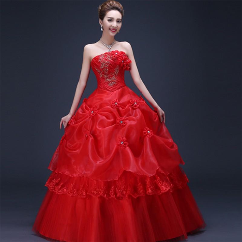15 Contoh Gaun Pengantin Modern Warna Merah Terupdate Gaun Jogja