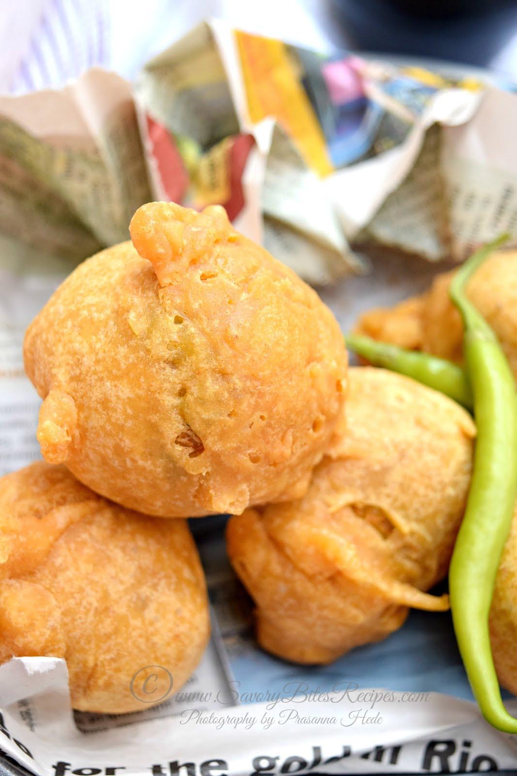Batata Vada Wada Vada Pav Street Food Indian Vegetarian Tea-time snack Potato Vada