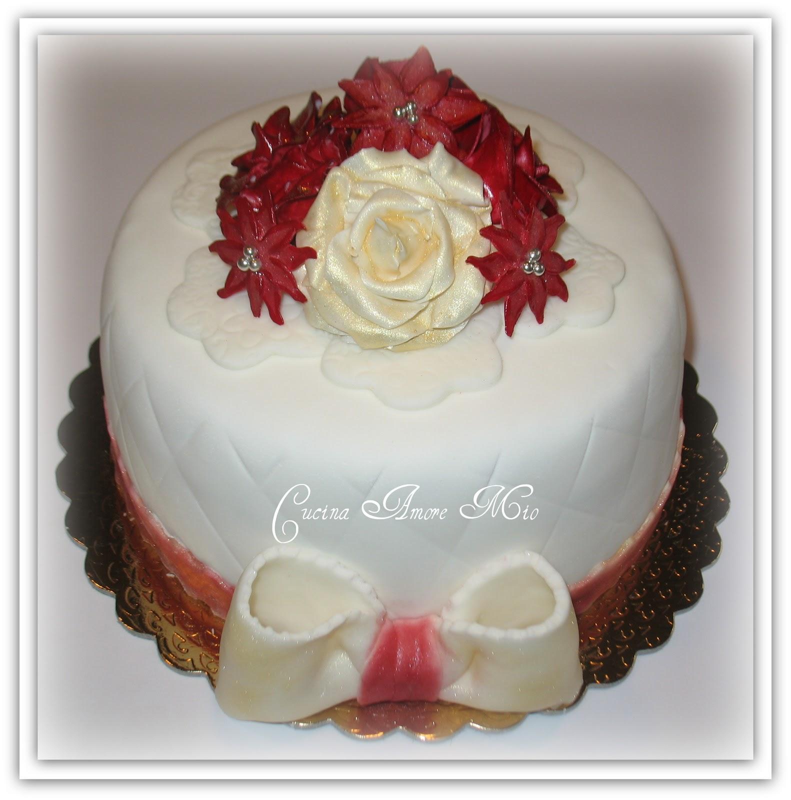 Conosciuto Lara Costantini Cake Designer: TORTA DI COMPLEANNO PER LA NONNA  HI78