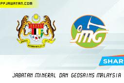 Jawatan Kosong di Jabatan Mineral Dan Geosains Malaysia.