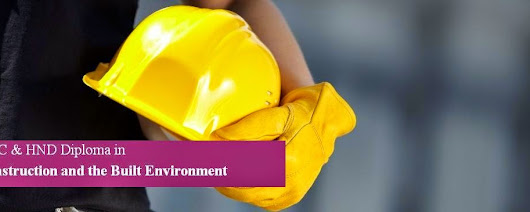 HNC & HND Diploma in Construction and the Built Environment