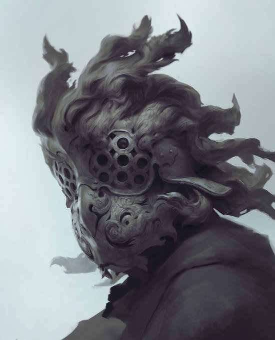 Stepan Alekseev artstation ilustrações fantasia sombria