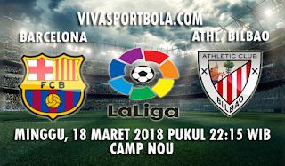 Prediksi Barcelona vs Athletic Bilbao 18 Maret 2018