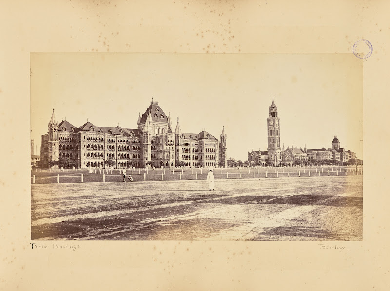 Public Buildings, Bombay (Mumbai) - Circa 1880's