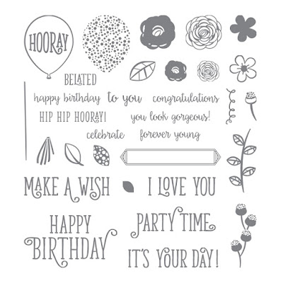 Happy Birthday Gorgeous - A fantastic all purpose stamp set that is perfect for all ages and genders. If you only buy one stamp set, make it this one. Available here - http://bit.ly/2xpUUpm - Simply Stamping with Narelle