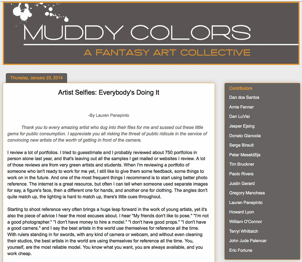 http://muddycolors.blogspot.com/2014/01/artist-selfies-everybodys-doing-it.html