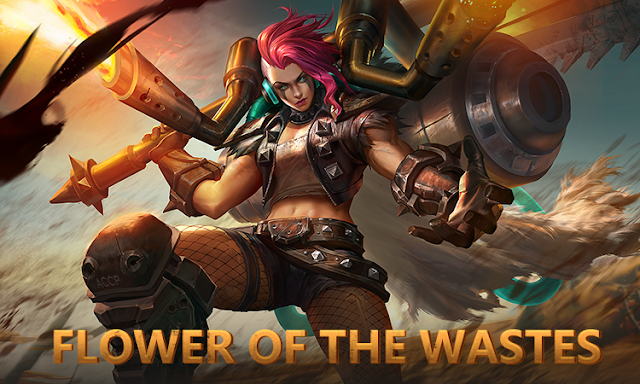 Skin S5 Hilda - Flower Of The Wastes