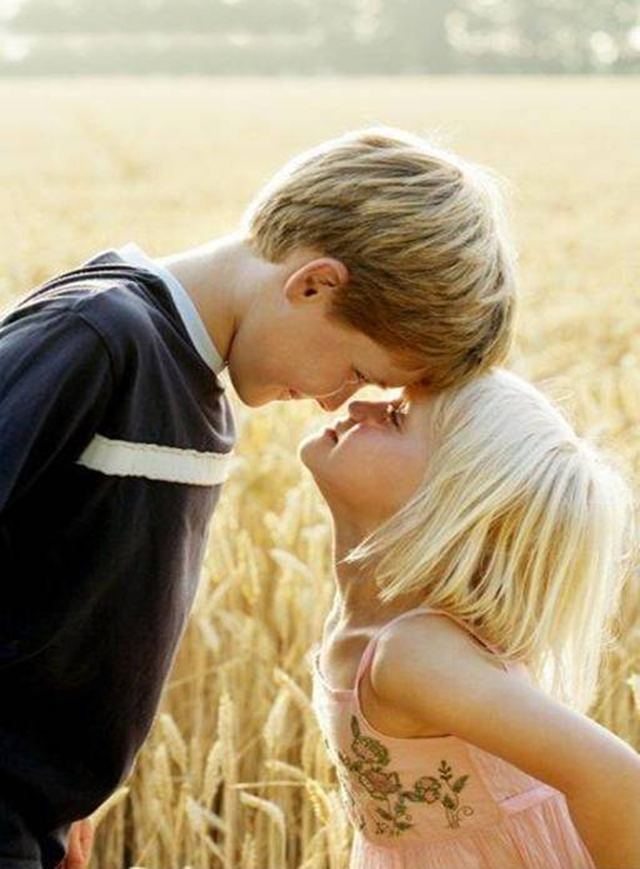 Hd Wallpapers Fine Baby Couple Kissing High Resolution Hd -4015