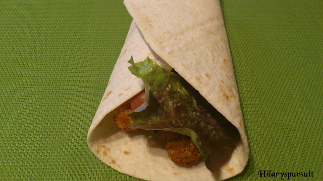 Wrap poulet croustillant-bacon