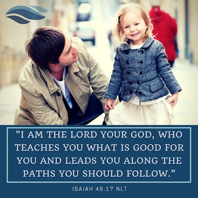 I am the Lord your God, who teaches you what is good for you and leads you along the paths you should follow.