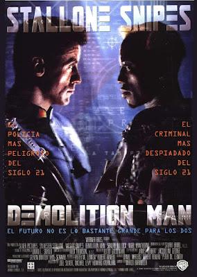 Demolition Man 1993 DVD R1 NTSC Latino