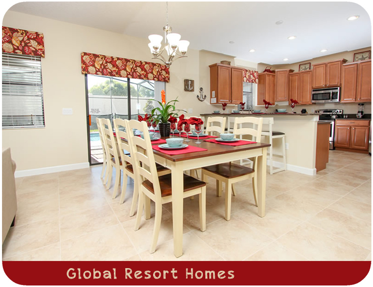 Global Resort Homes Championsgate Kitchen