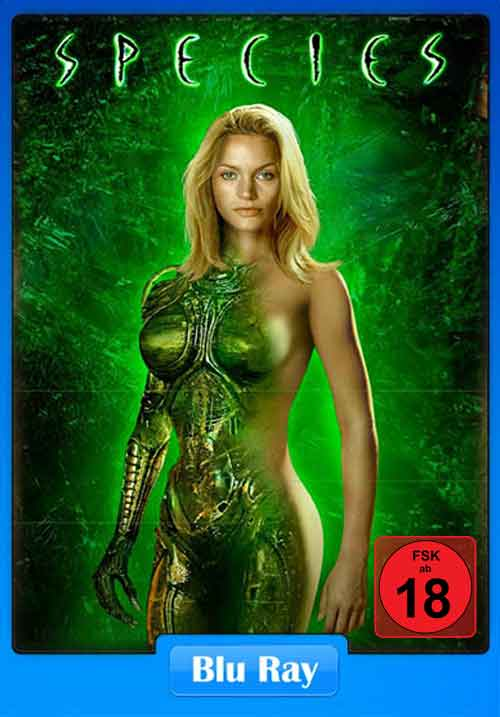 Species 1995 BluRay 400MB Poster
