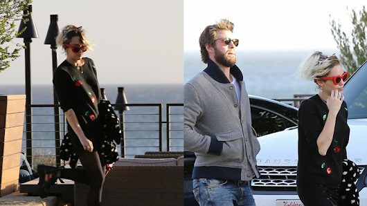 Miley Cyrus in a Date Night With Liam Hemsworth