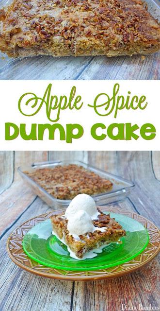 Apple Spice Dump Cake, Apple Recipes