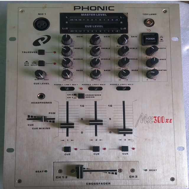 Phonic mx300 xe DJ mixer की feature और speacification