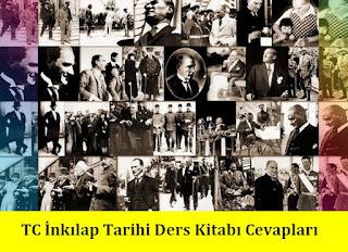 8. Sınıf İnkılap Tarihi Tuna Matbaa Yayınları Ders Kitabı Cevapları
