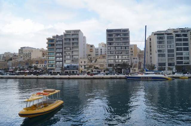 puerto maritimo de Sliema