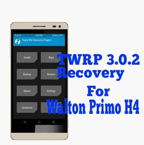 TWRP 3.0.2 Recovery For Walton Primo H4