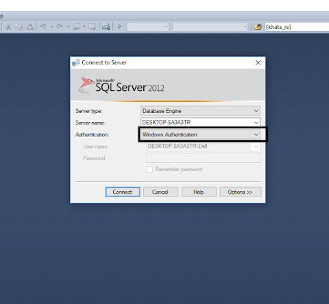 Change the password in SqlServer
