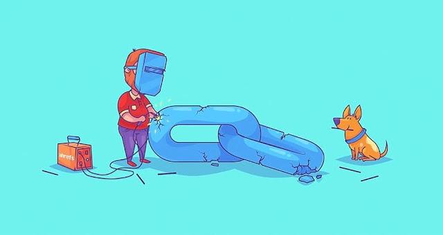 """Cara Mengecek dan Memperbaiki Broken Link """"Link Rusak"""" Pada Blog"""