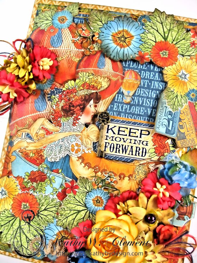 Keep Moving Forward Pocket Card