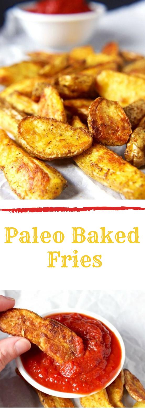 PALEO BAKED FRIES #diet #paleo