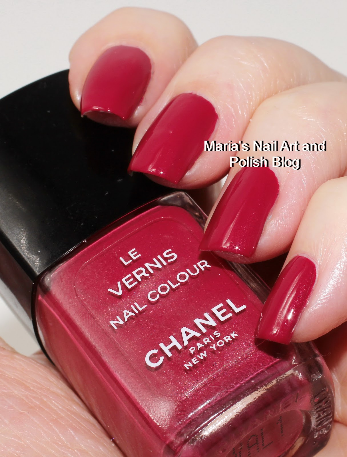 Marias nail art and polish blog chanel rouge envoutant berry 55 chanel rouge envoutant berry 55 swatches prinsesfo Images